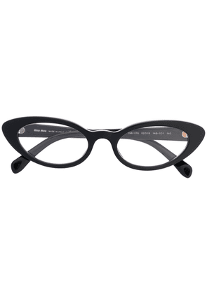 Miu Miu Eyewear cat eye glasses - Black