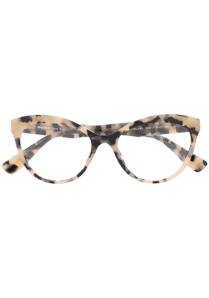 Miu Miu Eyewear oversized glasses - Neutrals