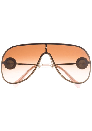Miu Miu Eyewear aviator sunglasses - Gold