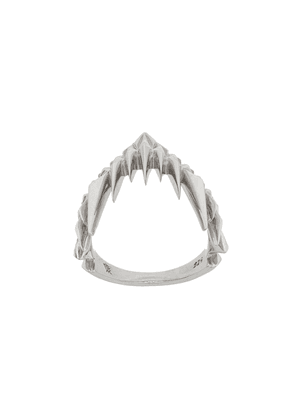 Kasun London Shark Bay ring - Metallic