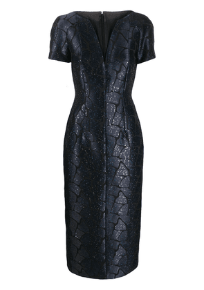 Talbot Runhof Roar dress - Blue