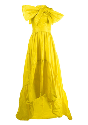 Talbot Runhof Toucan evening dress - Yellow