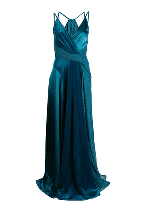 Talbot Runhof Solberg dress - Blue
