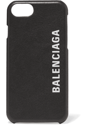 Balenciaga - Printed Textured-leather Iphone 7 And 8 Case - Black