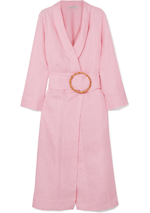 Sleeper - Linen Robe - Pink