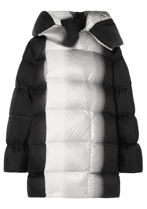 Rick Owens - Sisy Oversized Dégradé Quilted Shell Down Coat - Black