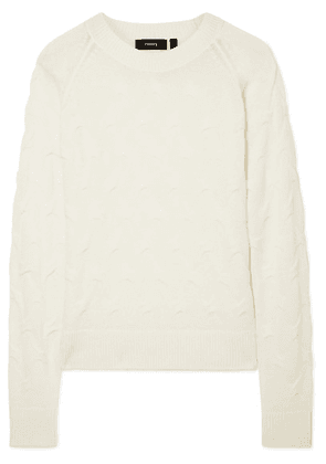 Theory - Textured Cashmere Sweater - Ivory