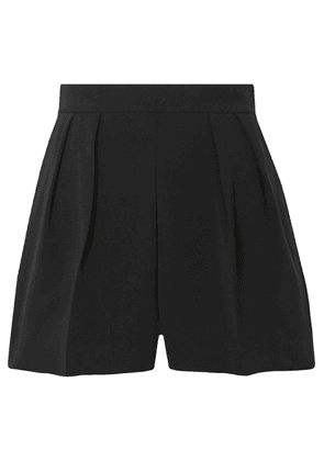Theory - Pleated Crepe Shorts - Black