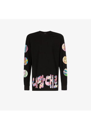 99% Is CSTM painted long sleeve top