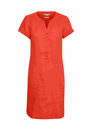 Part Two Aminas Red Linen Dress
