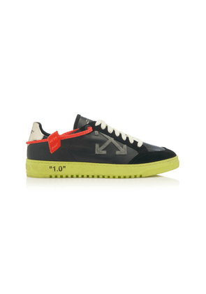 Off-White c/o Virgil Abloh 2.0 Suede and Leather Sneakers