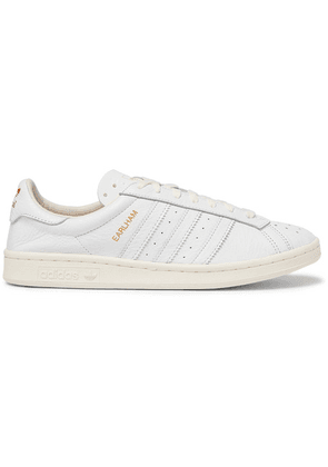 adidas Consortium - Spezial Earlham Textured-leather Sneakers - White