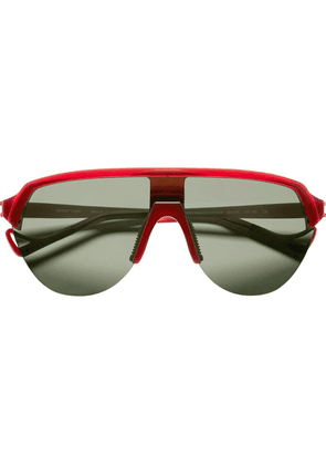 District Vision Black and red Nagata sunglasses