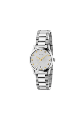 Gucci G-Timeless, 27 mm watch - Silver