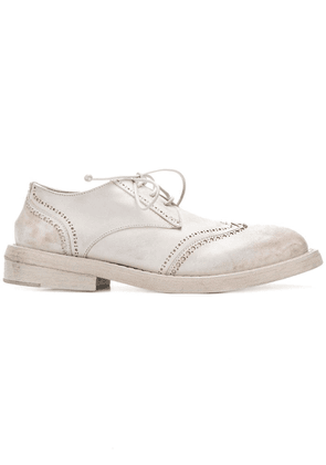 Marsèll perforated Derby shoes - White