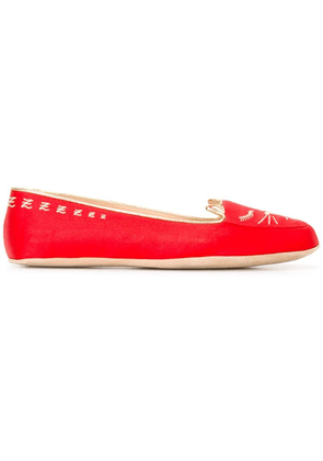 Charlotte Olympia Cat Nap set - Red