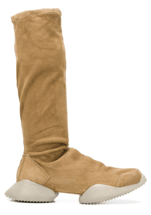 Adidas By Rick Owens platform knee-length boots - Neutrals
