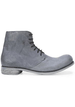 A Diciannoveventitre distressed boots - Grey