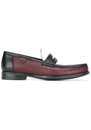 Dolce & Gabbana brushed leather loafers - Red