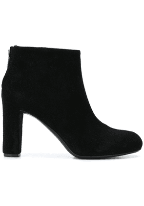Del Carlo zipped ankle boots - Black