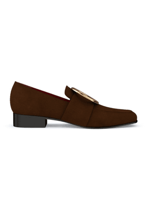 Dorateymur Customisable Harput loafers - Brown
