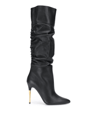 Tom Ford ruched high boots - Black