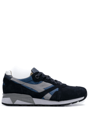 Diadora panelled sneakers - Blue