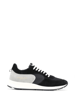 Philippe Model panelled sneakers - Black