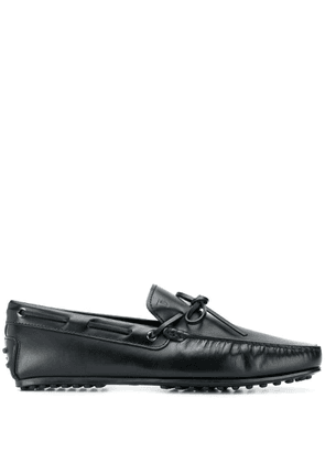 Tod's slip on leather loafers - Black
