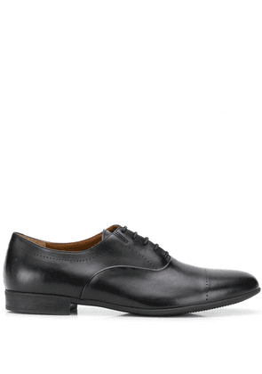 Fratelli Rossetti perforated detail Oxford shoes - Black