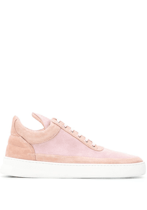 Filling Pieces tonal low top sneakers - Pink