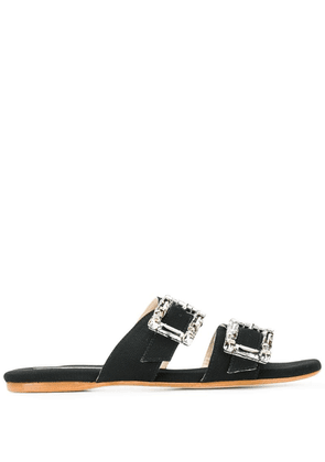 Anna Baiguera Aurora sliders - Black