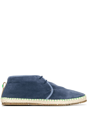 Brimarts perforated chukka boots - Blue