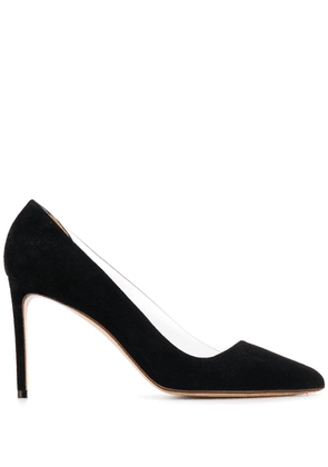 Francesco Russo d'orsay stiletto pumps - Black