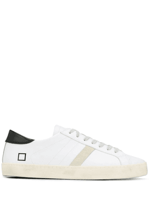 D.A.T.E. lace-up sneakers - White