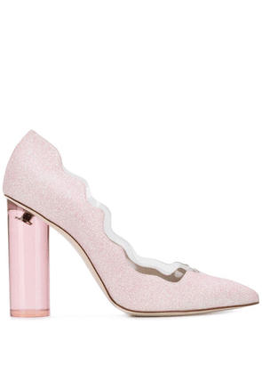 Francesca Bellavita Moon 100 pumps - Pink