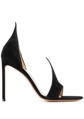 Francesco Russo open toe sandals - Black