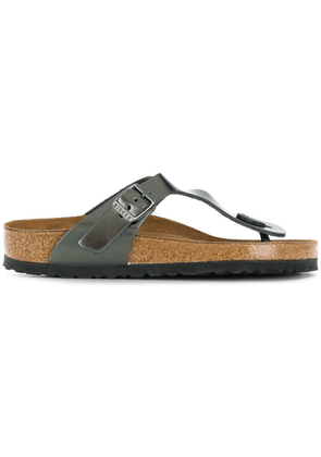Birkenstock buckle detail sandals - Grey