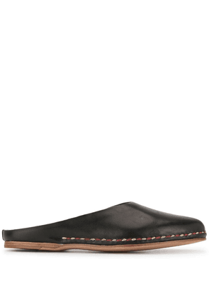 Feit Ceremonial mules - Black