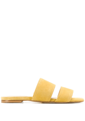 Aeyde double-strap sandals - Yellow
