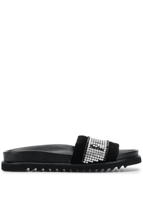 Philipp Plein logo sliders - Black