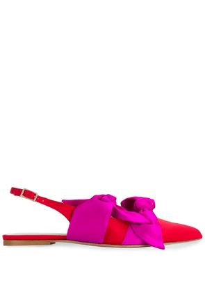 Gia Couture Eva flat sandals - Red
