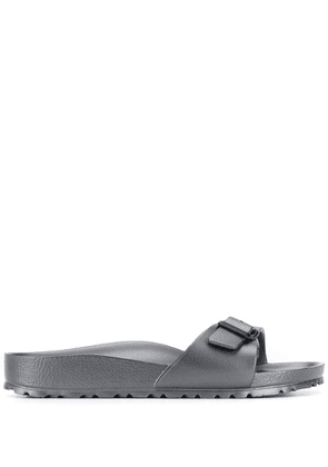 Birkenstock side buckle slides - Grey