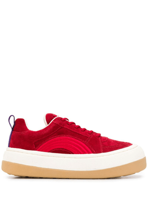 Eytys Sonic chunky sneakers - Red
