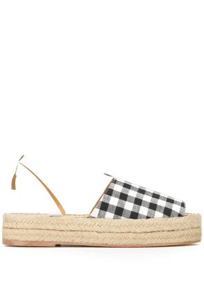 Dodo Bar Or gingham espadrilles - White