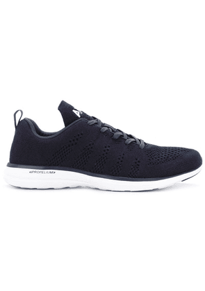 Apl perforated lace-up sneakers - Blue