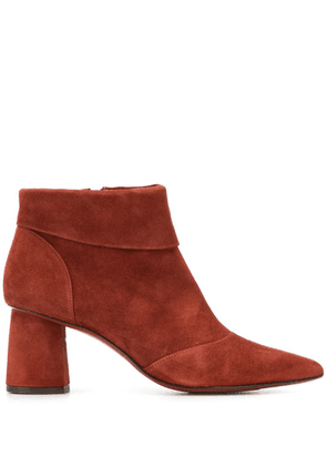 Chie Mihara lula panelled boots - Brown