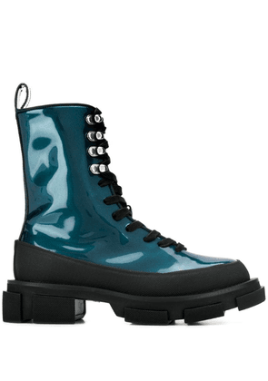 Both ankle boots - Blue