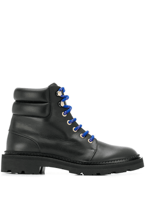 Bally ankle lace-up boots - Black