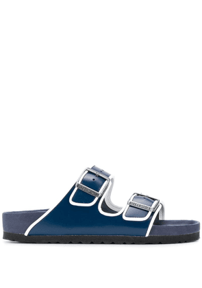 Birkenstock Arizona contrast trim sandals - Blue